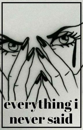 everything i never said // yuri on ice by v-v-victor