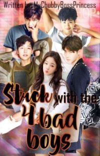 Stuck with the Four Bad Boys  cover