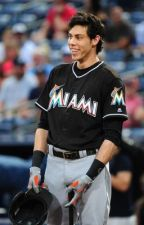Outfielder's Angel (Christian Yelich) by AnnaRae01