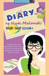 Book 1: Diary ng hindi Malandi (Slight lang!) (Mini TV series at TV5) cover