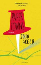 Paper Towns by thecrmsoncurse