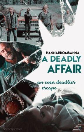 A Deadly Affair {The Walking Dead ~ Simon} by hannahbombanna