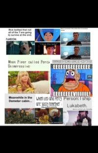 Percy Jackson Memes cover