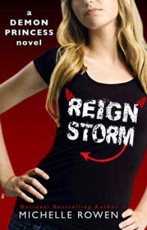 Demon Princess #4: Reign Storm by Michelle_Rowen