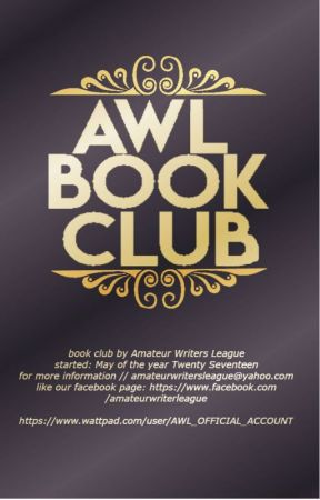 「Amateur Writers League Book Club 」 by AWL_OFFICIAL_ACCOUNT