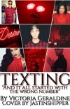 Texting    Justin Bieber. cover