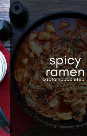 Spicy Ramen by captainbubbletea