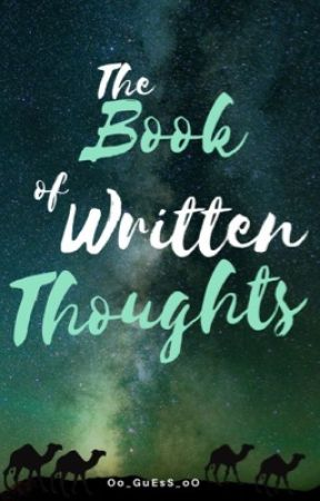 The Book of Written Thoughts by Oo_GuEsS_oO