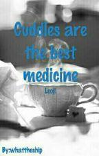 Cuddles are the best medicine - Leoji by whattheship