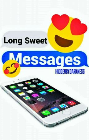 For sweet boyfriend message tagalog Long Sweet