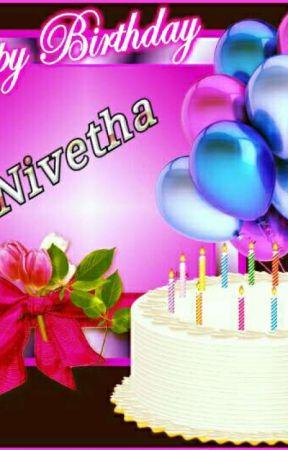 Happy Birthday NIVETHA 💓💓 by Thiyanirudh