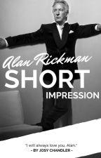 Alan Rickman | Short Impression by Vness_Josy