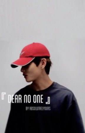 『 Dear No One 』ー Taehyung by absolutaelyours