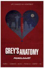Grey's Anatomy Monologues by nubivagant77