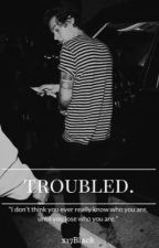 Troubled. by x17Black