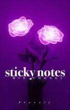 sticky notes » m.yg by heyxxij