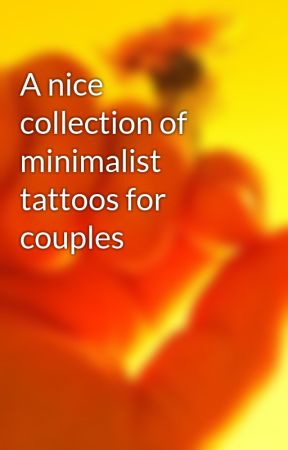 A nice collection of minimalist tattoos for couples by tattoohochiminh