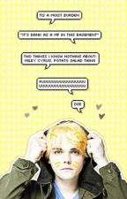 GERARD WAY IMAGINES ( fluff & smut ) by FrZemo