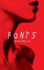 fonts by wxntermelon