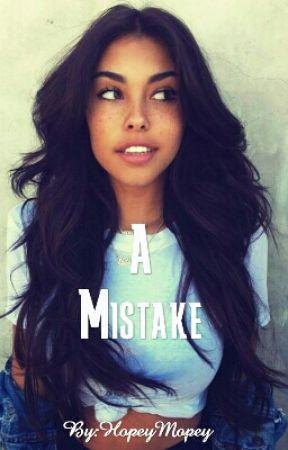 A Mistake by fre_sha_voc_ado