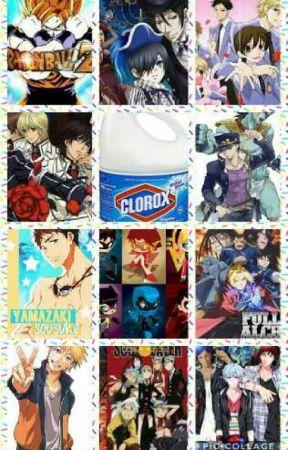 Anime x Reader oneshots by Glitchglitch