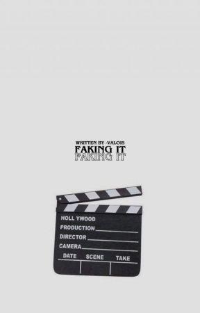 1   faking it · m. espinosa [✔️] by cosmingki