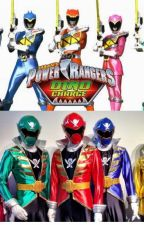 Dino Super Charge Meet Super Megaforce! || Power Rangers Crossover by MaryamWritesFanfic
