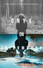 Onyx on Aquamarine by whitefcblade