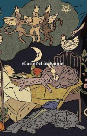 el arte del insomnio by -manosfrias