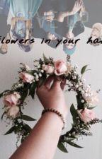 Flowers in your hair ~ joshler by cursedlittlevalerie