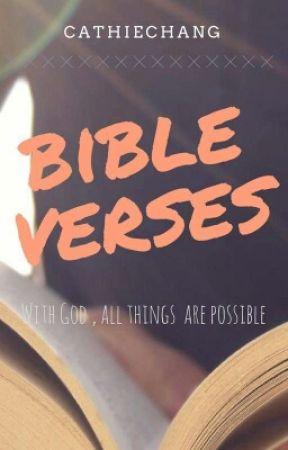 Bible Verses by Cathiechang