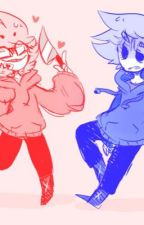 Between the Red and Blue (Tom x Male!Reader x Tord) by KING_andro_KING