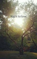Right to love od MinoriTamaki