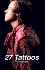 27 tattoos | Harry Styles AU by alltimeharold