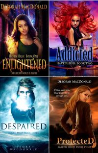 The Haven High Book Series (Wattys2017) cover