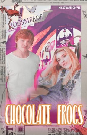 Chocolate Frogs ◌ Ronald Weasley by microwavedcoffee