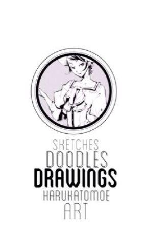 sketches, doodles & drawings    art by HarukaTomoe