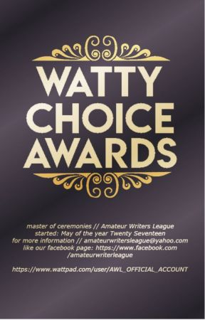 「Watty Choice Awards 2017 」 by AWL_OFFICIAL_ACCOUNT