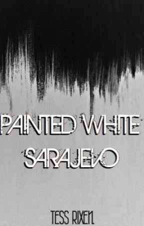 painted white, sarajevo by crowkiiing