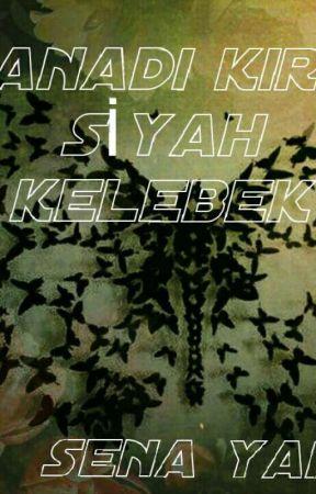 KANADI KIRIK SİYAH KELEBEK  by SenaYank0