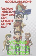 Young Justice Quotes: Season 1 ✔️ by NoRealReasons