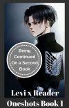 Levi x Reader Oneshots Book 1 cover
