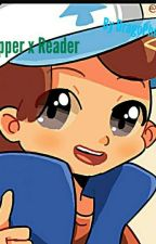 Dipper x Demon Reader by Trashy_Treeesh