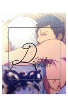 Dear Agony: Aomine Daiki × Reader  by ovaryakted