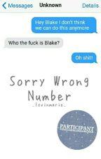 Sorry, Wrong Number by mariemartinn