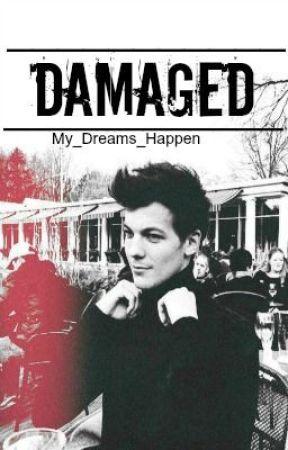 Damaged // l.t. AU by My_Dreams_Happen