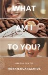 What am i to you?    Liskook cover