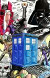 Doctor Who. Crossover. cover