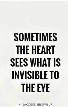 """""""sometimes the heart sees what is invisible to the eye"""" // essay // by thebaesicme"""