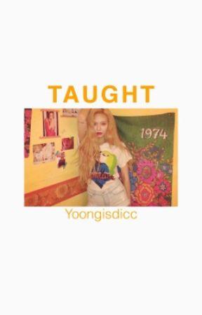 Taught - yoonmin by yoongisdicc